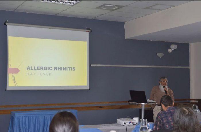 Dr Ebrahim Mahomed presents Allergic Rhinitis
