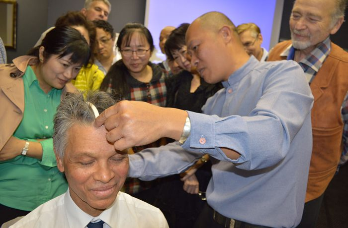 Dr Andy Hu's Scalp Acupuncture presentation
