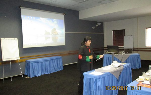 Dr Kelly May, SAACMA Chairperson