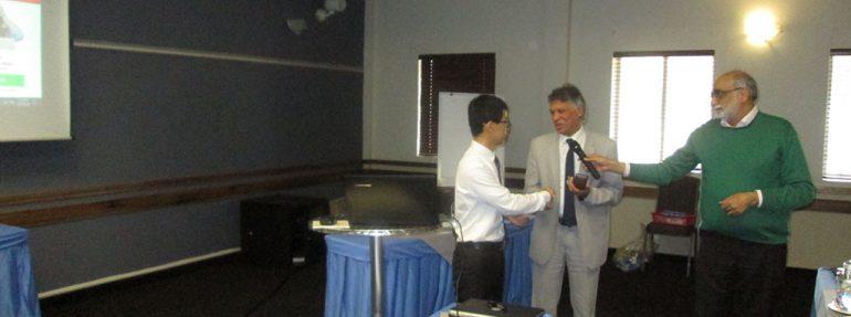 A gift to Dr Zijing Hu from Dr Rubin Rhode
